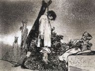 """Fransisco Goya: Aquí tampoco (""""Även här"""")"""