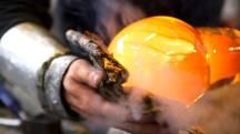 Småländsk glastillverkning